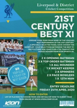 FINAL DAY TO WIN YOUR CLUB A FULL ICON T20 KIT FOR NEXT SEASON